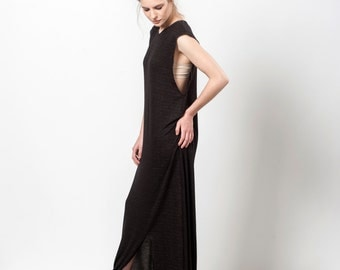Maxi Dress Summer, Black Dress Long, Sleeveless Maxi Dress, Black Day Dress, The Chicoholic