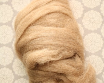 Alpaca Fiber Roving for Spinning, Felting and Weaving