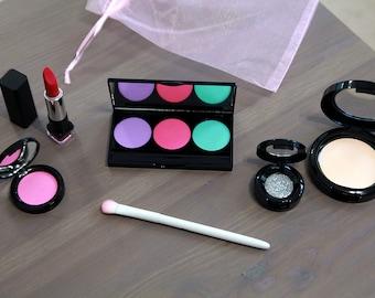 Pretend Makeup Set For Your Munchkin - Fake Makeup - Little Girl Gift  - Toddler Makeup - Play Makeup