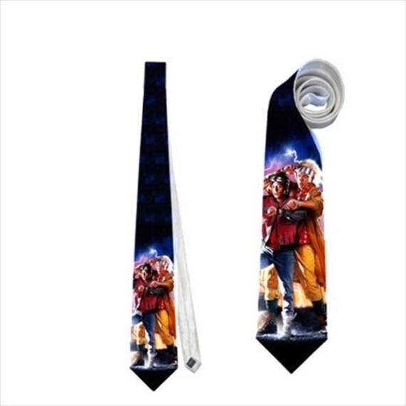 necktie back to the future tie memorabilia eighties 80