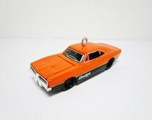 "3"" 1969 Dodge Charger R/T Die-Cast Car Christmas Tree Ornament Decoration"