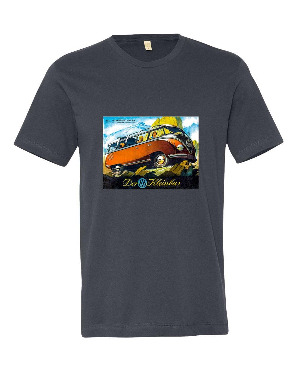 kombi t shirt vw bus 60 39 s clam chowder unicorn free. Black Bedroom Furniture Sets. Home Design Ideas