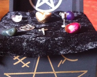 Mini Altar, Starter Witch Kit, Wicca, Pagan