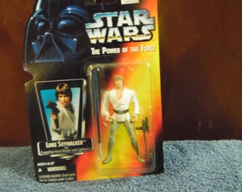 Star Wars Power of the Force Luke Skywalker 1990's Kenner