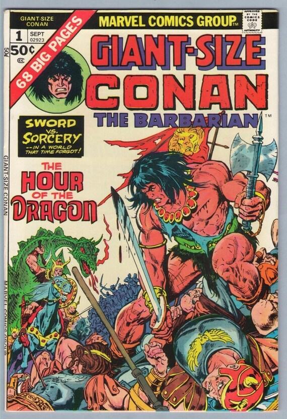 Giant-Size Conan 1 Sep 1975 VF+ (8.5)