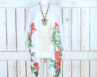 Sheer kimono | Etsy