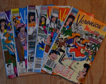 Veronica In Mexico Plus 5 other Veronica Comics 1990's