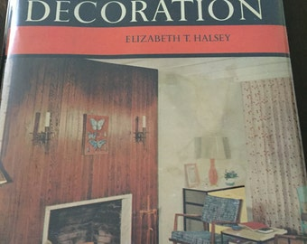 Ladies' Home Journal Book of Interior Decoration, 1959 vintage book