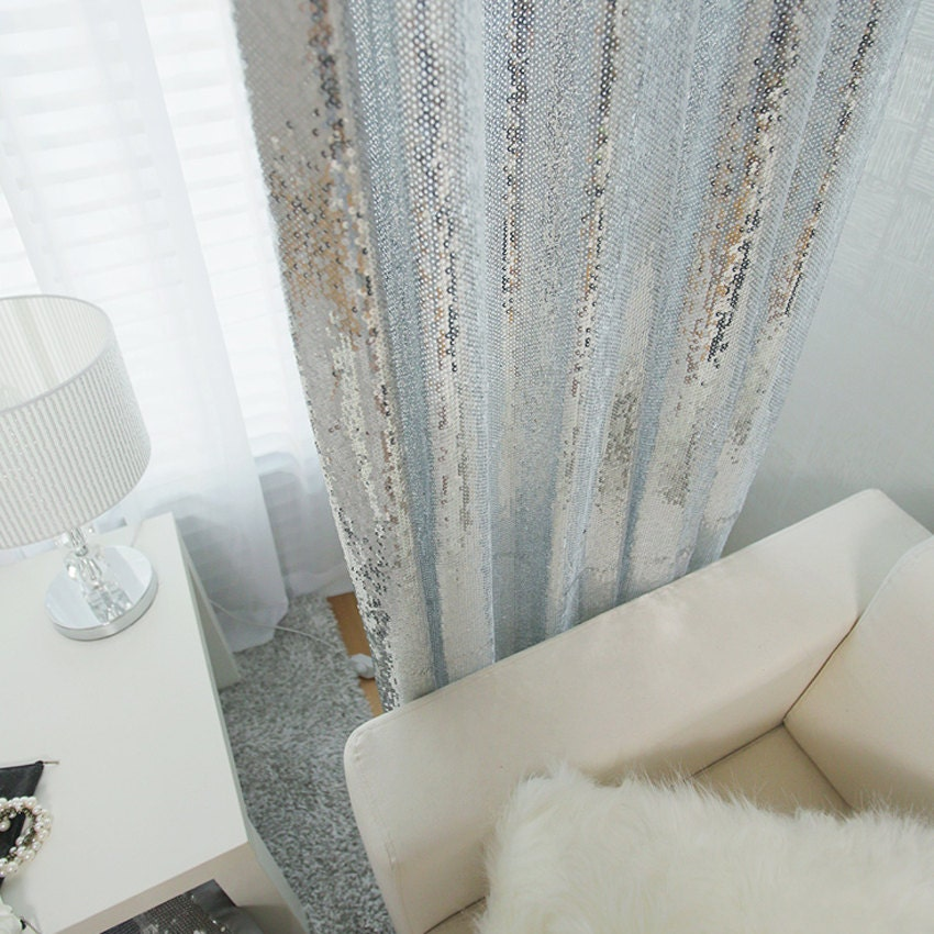Curtains With Sequins
