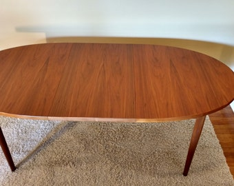 RESERVED FOR CAROLINE - Mid Century Danish Modern Teak Dining Table