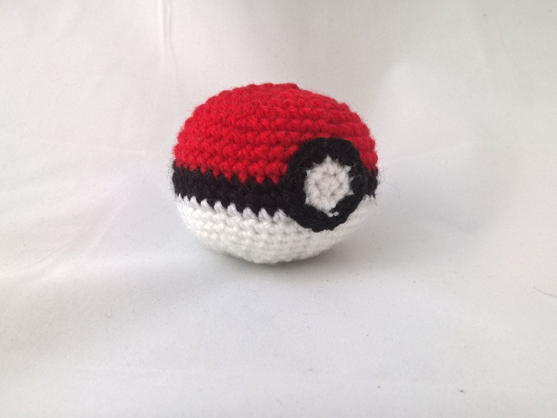 Amigurumi Pokemon Ball : Poke Ball Amigurumi