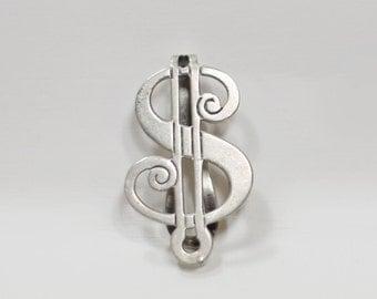 Vintage Sterling Silver Money Clip
