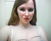 Plus 1 Charisma Temporary Tattoos SET OF 2