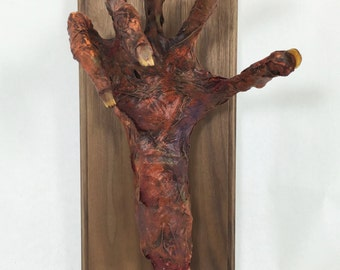 Corpsed Hand Plaque