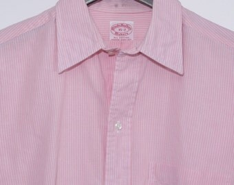 Size 15/32, S - Brooks Brothers Makers vintage all cotton shirt, 15/32, S