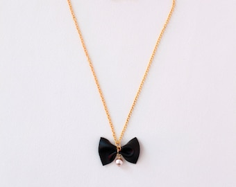 HOPE Necklace for Girls in Black