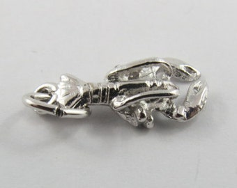 Sterling Silver Charm of a Lobster.