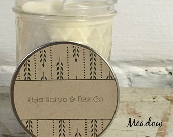 Meadow- 8 oz. Soy Wax Candle