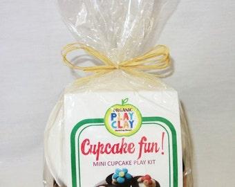 Organic Play Clay Kit -- Cupcake Bakery!
