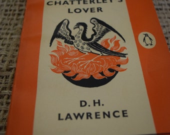 Lady Chatterley's Lover. D. H. Lawrence. Penguin 1484. 1960