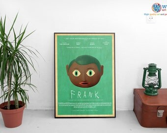 Frank Ocean - FRANK - Blond Poster / Print   (11.69 x 16.53 inches) - Choice of two variants