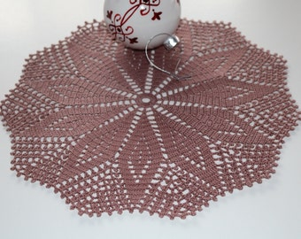 Crochet doily, Beautiful doily, Round crochet doily, Handmade doily, crochet lace doily, Crochet table decoration, Christmas gift