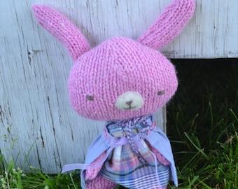 Pink Petunia Bunny, pocket pal