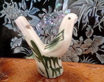 Whistle, Bird Whistle, Whistle shaped Bird, Ceramic Whistle, Ceramic Bird