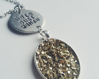 Gold Dust Woman Necklace