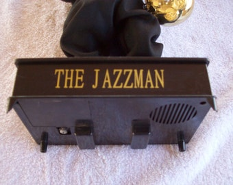 Vintage 17' The Jazzman Animated Saxophone Player Musical Doll...Not Working...