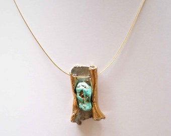 pendant Turquoise natural