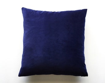 Pillow Cover, Navy Blue