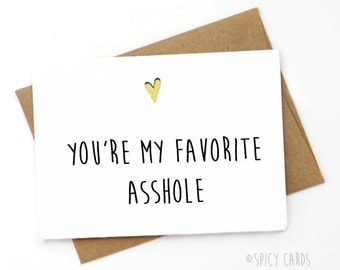 Funny Card for boyfriend, Funny Card for husband, Funny Card for wife, Funny card for best friend