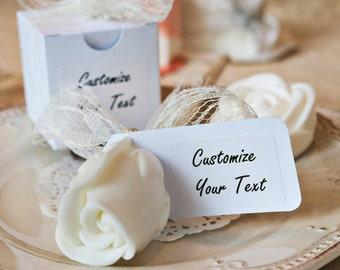 Rustic Bridal shower favors, Elegant wedding favors, Rustic wedding favors, Will you be my bridesmaid, Rustic Soap favors, Unique  favors