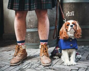 Scottish  Kilt Dog Coat - Dog Coat - Dog Clothing - Pet Clothes - Available to Any Breed