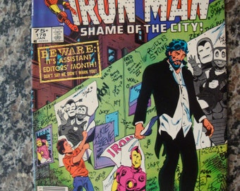 Iron Man Issue 178