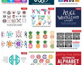 Svg Bundle Svg: ALL Files In the Store in SVG & DXF formats - Digital Cut Files for Silhouette Studio, Cricut Design Space, etc.