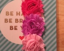 Custom Shabby Flower Planner Band ADD ON (Read listing for details)