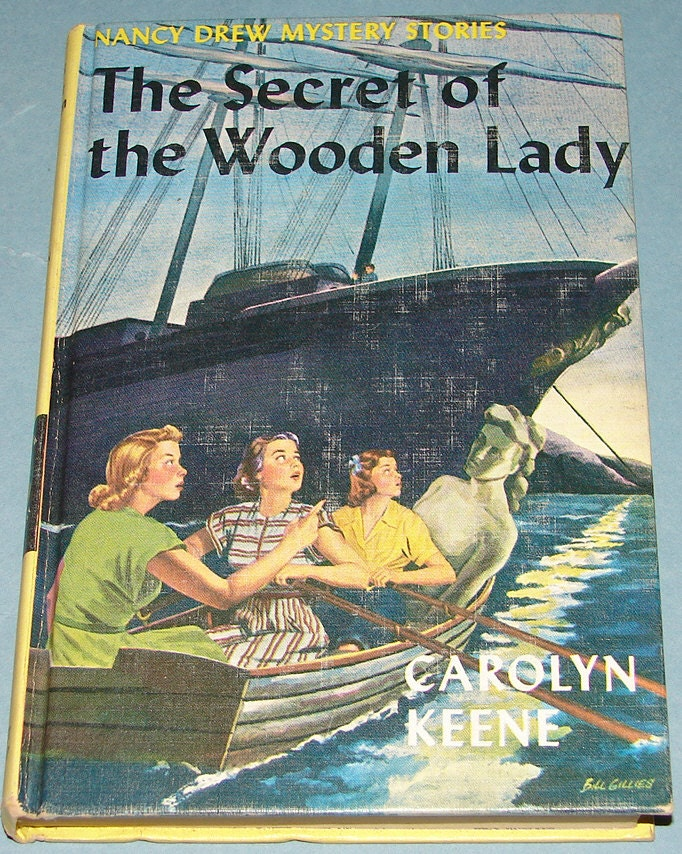 Nancy Drew #27 Secret of the Wooden Lady FIRST 1st PC Carolyn Keene