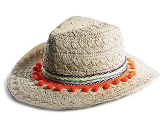 Panama hat Raffia & Ribbon