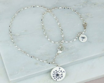A Wish For You And Me Bracelet Set, Mummy & Me, Sisters, bracelet set, make a wish, lucky, dandelion