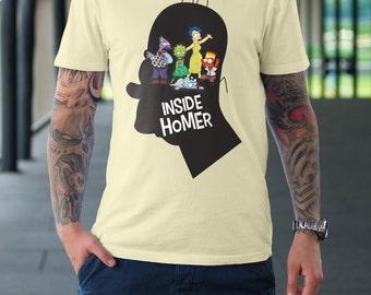 Inside Homer T-Shirt | Unisex - Women |