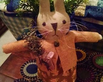 """Primitive Handmade """"Daisy"""" Bunny"""