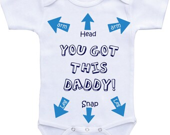 Funny baby clothes Funny baby boy onesie Funny baby onsies Funny baby shirts Funny Onesie Dad Funny baby gifts for boys funny baby onesies