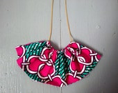 Statement necklace - Pink...
