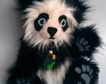 Blossom the Panda Plush Doll