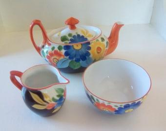 Vintage Tea for one set