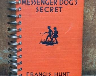 Vintage Book Journal, The Messenger Dog's Secret