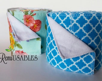 Family Cloth, 20 sheets on a roll, cloth wipes, cloth toilet paper, reusables wipes, toiletry, crunchy.