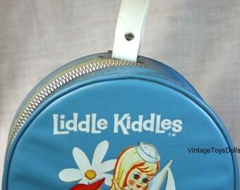 Vintage Liddle Kiddles Doll Case 1965...Hatbox Case